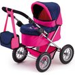 more details on Bayer Trendy Dolls Pram - Pink and Dark Blue.
