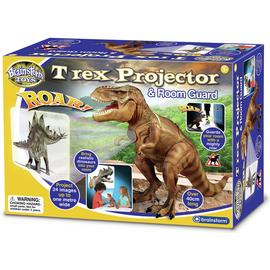 Brainstorm Toys T-Rex Projector and Room Guard.