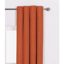 Heart of House Hudson Eyelet Curtains - 168x229cm - Russet