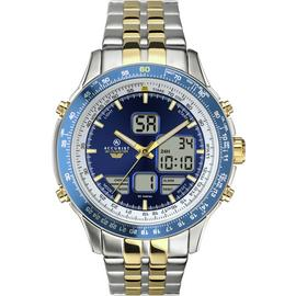 Accurist Men's Two Tone Stainless Steel Chronograph Watch