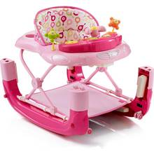 MyChild Walk N Rock 2 In 1 Baby Walker - Pink