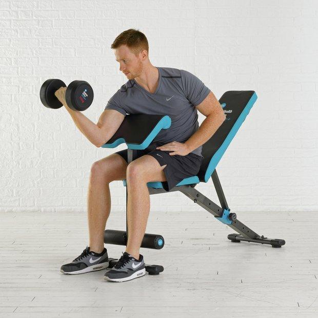 York Weights Bench Argos: Buy Men's Health Ultimate Workout Bench At Argos.co.uk
