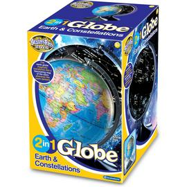 Brainstorm Toys 2 in 1 Globe Earth and Constellations.