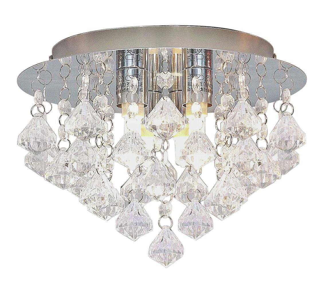 buy home eve 3 light droplet ceiling fitting   clear at argos co uk   your online shop for lighting clearance home and garden home and garden  buy home eve 3 light droplet ceiling fitting   clear at argos co      rh   argos co uk