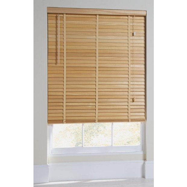 Buy Heart Of House Elliott 50mm Wooden Tape Blind 6ft