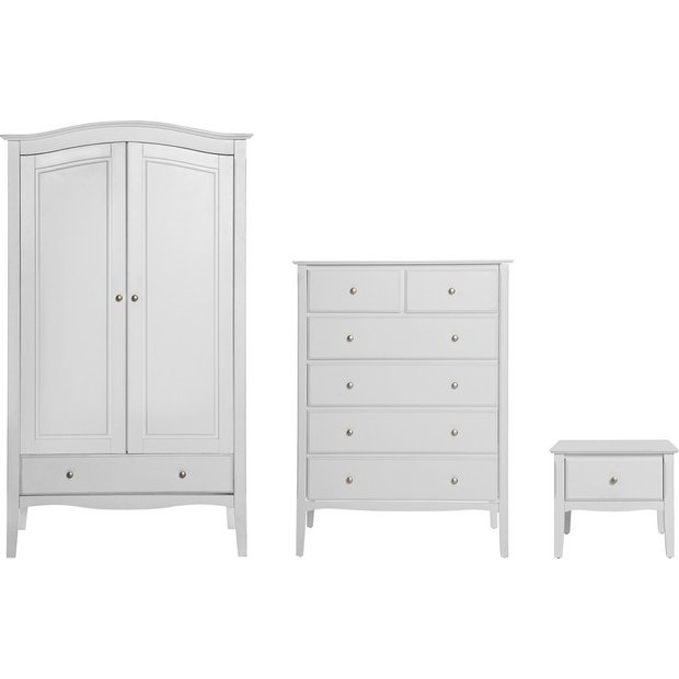Buy Heart Of House Avignon 3 Piece Wardrobe Package White At Your Online Shop