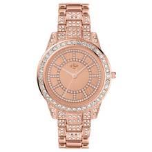 Spirit Lux Ladies' Rose Stone Set Bracelet Watch