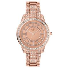 Spirit Lux Ladies' Rose Stone Set Bracelet Watch