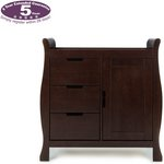 more details on Obaby Lincoln Changing Unit – Walnut.