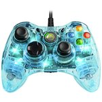 more details on Afterglow XBox 360 Wired Controller - Blue.