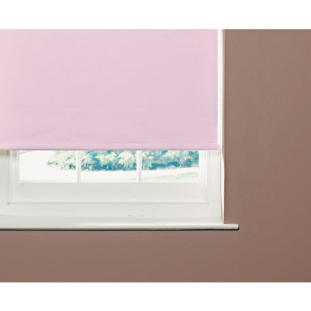 Buy Colourmatch 6ft Blackout Roller Blind Bubblegum Pink