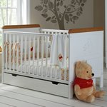 more details on Winnie the Pooh Cot Bed with Free Sprung Mattress.