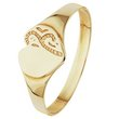 more details on Revere 9ct Gold Maids Signet Ring