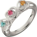 more details on Sterling Silver Cubic Zirconia 'Daughter' Ring.