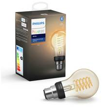 Philips Hue B22 White Smart Filament Bulb with Bluetooth