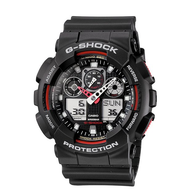 buy men s watches at argos co uk your online shop for jewellery more details on casio men s g shock world time watch