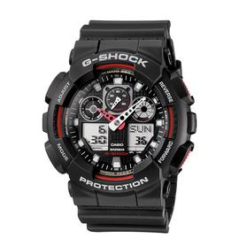 Casio G-Shock Men's Black Resin Strap World Time Watch
