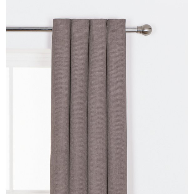 Buy Heart Of House Hudson Lined Eyelet Curtains 168x229cm