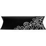 more details on Medium Black Swirl Pillow Pack Gift Packaging.
