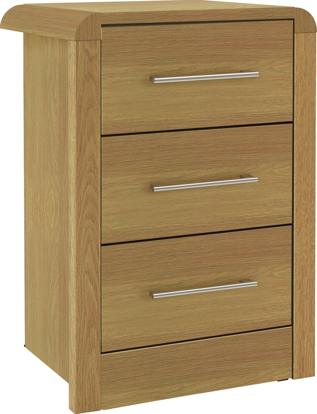 Chest of drawers and bedside table set - More Details On Heart Of House Elford 3 Drawer Bedside Chest Oak Effect