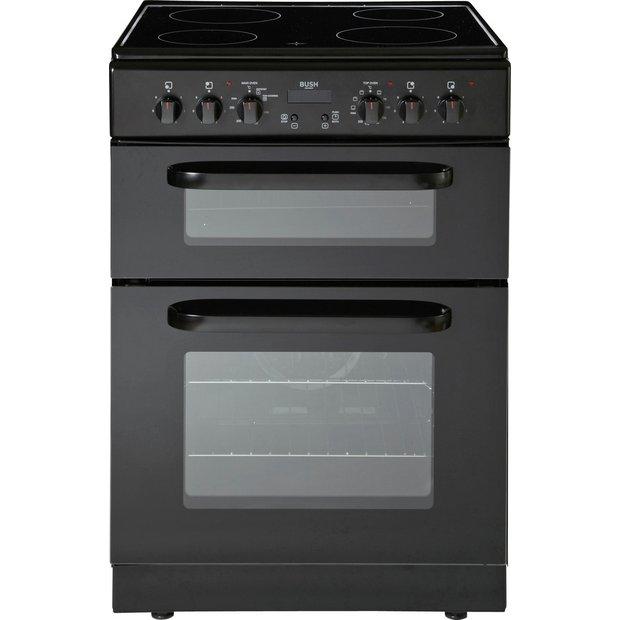 buy bush bedc60b electric cooker black ins del rec at. Black Bedroom Furniture Sets. Home Design Ideas