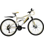 more details on Boss White gold Front Suspension Mountain Bike
