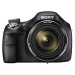 more details on Sony DSCH400 20MP 63x Zoom Bridge Camera - Black.