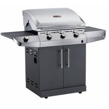 Char-Broil T36G - 3 Burner Gas BBQ with Side-Burner