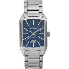 results for mens silver bracelets ben sherman men s silver effect bracelet watch