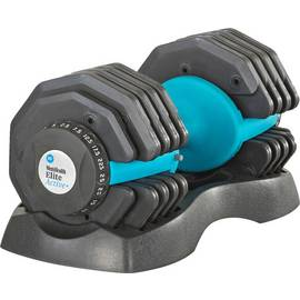 Men's Health Cast Iron Adjustable Single Dumbbell - 25kg