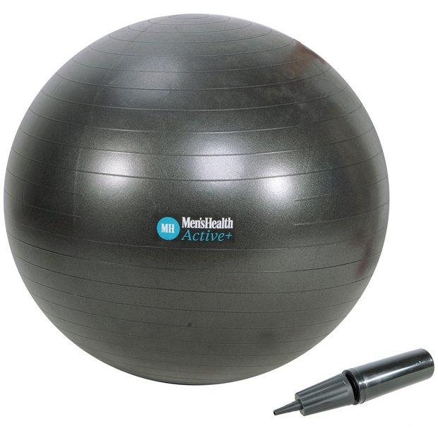 Balance Ball Argos: Buy Men's Health Gym Ball - 75cm