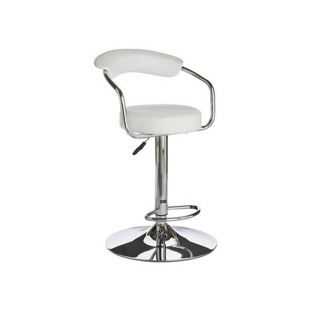 Buy Argos Home Executive Gas Lift Bar Stool W Back Rest