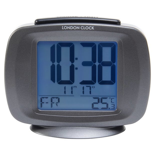 buy lc radio controlled day and date alarm clock at your online shop for clocks. Black Bedroom Furniture Sets. Home Design Ideas