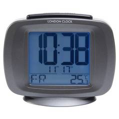 London Clock Company Radio Controlled Day-Date Alarm Clock