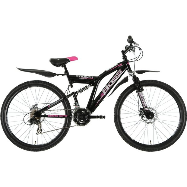 Buy Boss Stealth Dual Suspension Mountain Bike - Womens   Men\'s and ...