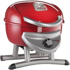 Char-Broil Patio Bistro 180R- Single Burner Gas BBQ - Red