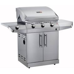Char-Broil T36G5 - 3 Burner Gas BBQ with Side-Burner