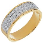 more details on 9ct Gold 0.20ct Diamond Set Band Ring.