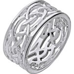more details on Sterling Silver Celtic Band Ring.