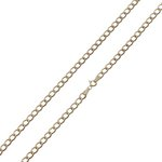 more details on 9ct Gold Solid Look Chain.