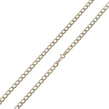 Revere 9ct Yellow Gold Solid Look 18 Inch Chain