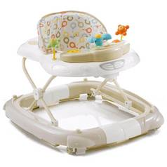 MyChild Walk N Rock 2 In 1 Baby Walker - Neutral