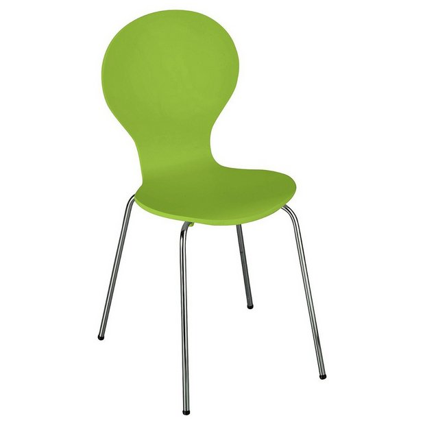 Buy ColourMatch Apple Green Bentwood Dining Chair at Argos ...