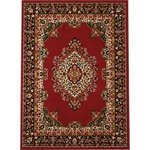 HOME Bukhura Traditional Rug - 160x120cm - Red
