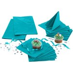 more details on Solid Colours Tableware Top-Up Kit - Teal.