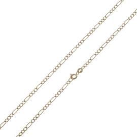 Revere 9ct Yellow Gold 3-in-1 Figaro 24 Inch Chain