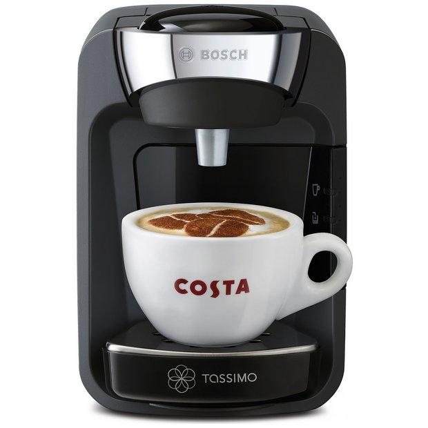 Buy Tassimo By Bosch Suny Pod Coffee Machine Black Coffee Machines Argos