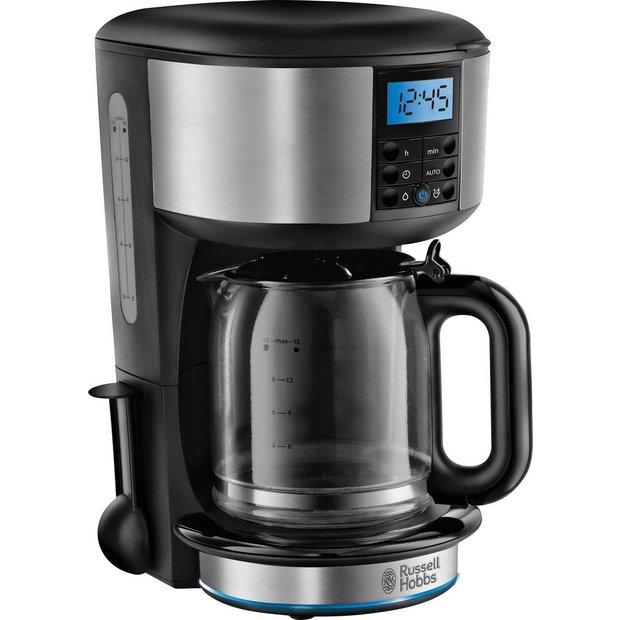 Buy russell hobbs 20680 buckingham coffee maker stainless for Garden maker online