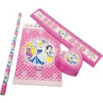more details on Disney Princess Sparkle Stationery Loot Bag Pack - 20 Pieces