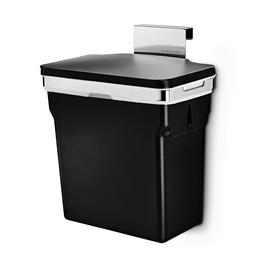 simplehuman 10L In-Cabinet Cupboard Bin - Black